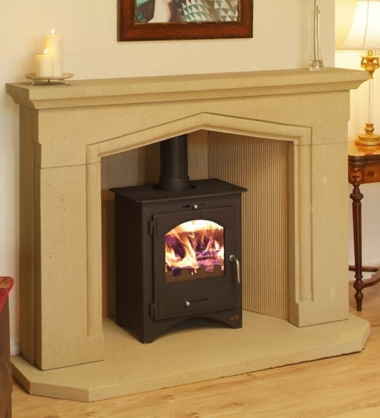 Bohemia 50 Multi Stove: modern  by Direct Stoves, Modern