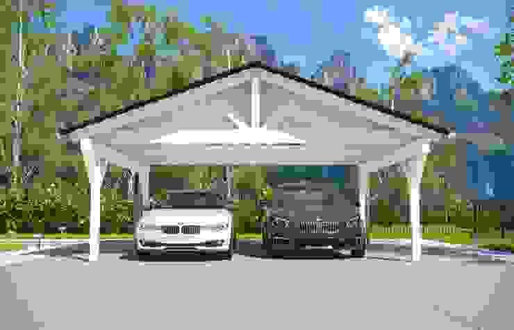 сучасний  by Solarterrassen & Carportwerk GmbH, Сучасний
