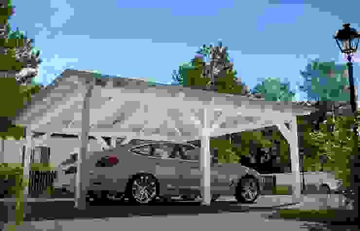 Easy Premium Walmdachcarport: modern  von Solarterrassen & Carportwerk GmbH,Modern