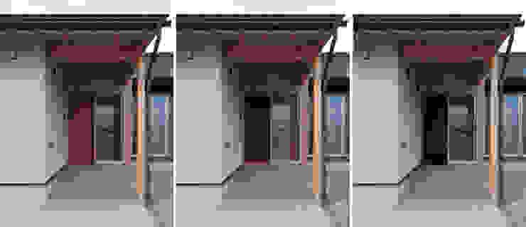 玄関ポーチ オリジナルな 家 の 家山真建築研究室 Makoto Ieyama Architect Office オリジナル