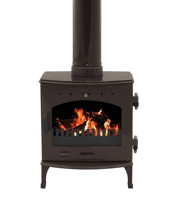 Carron Limited Edition Old Penny 4.7kW Multifuel Stove: modern  by Direct Stoves, Modern