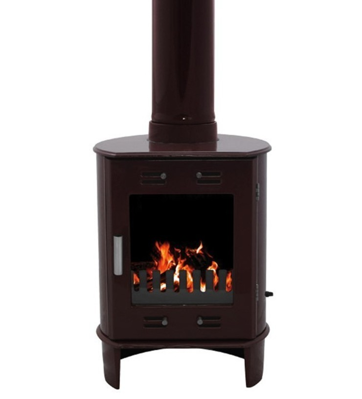 Carron Dante Egg Plant 5kW Multifuel DEFRA Approved Stove: modern  by Direct Stoves, Modern