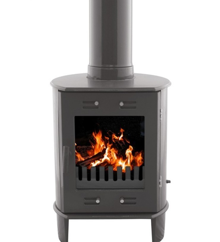 Carron Dante Pebble 5kW Multifuel DEFRA Approved Stove: modern  by Direct Stoves, Modern