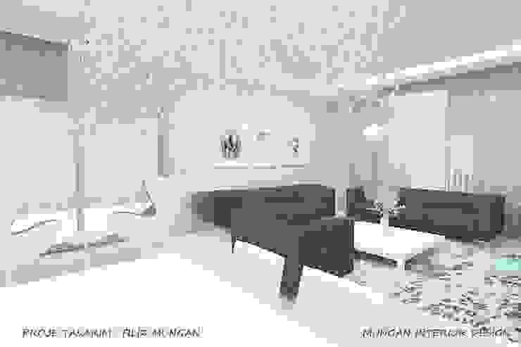 MUNGAN INTERIOR DESIGN Minimalistische Wohnzimmer