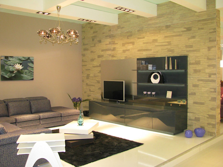 MUNGAN INTERIOR DESIGN Modern living room