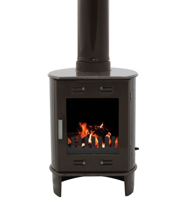 Carron Limited Edition Dante Old Penny 5kW Multifuel DEFRA Approved Stove: modern  by Direct Stoves, Modern