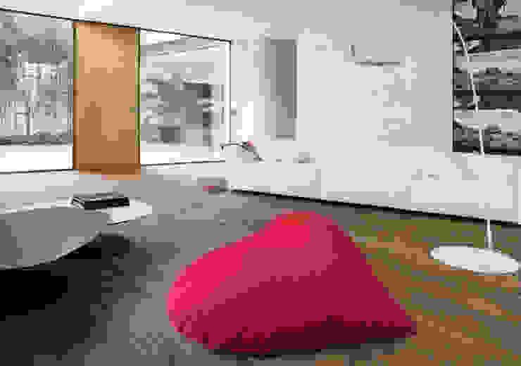 de estilo  de design Inmovimento , Moderno Textil Ámbar/Dorado