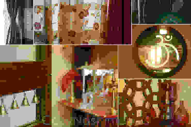 Priyanka & Yashbir Modern living room by Cozy Nest Interiors Modern