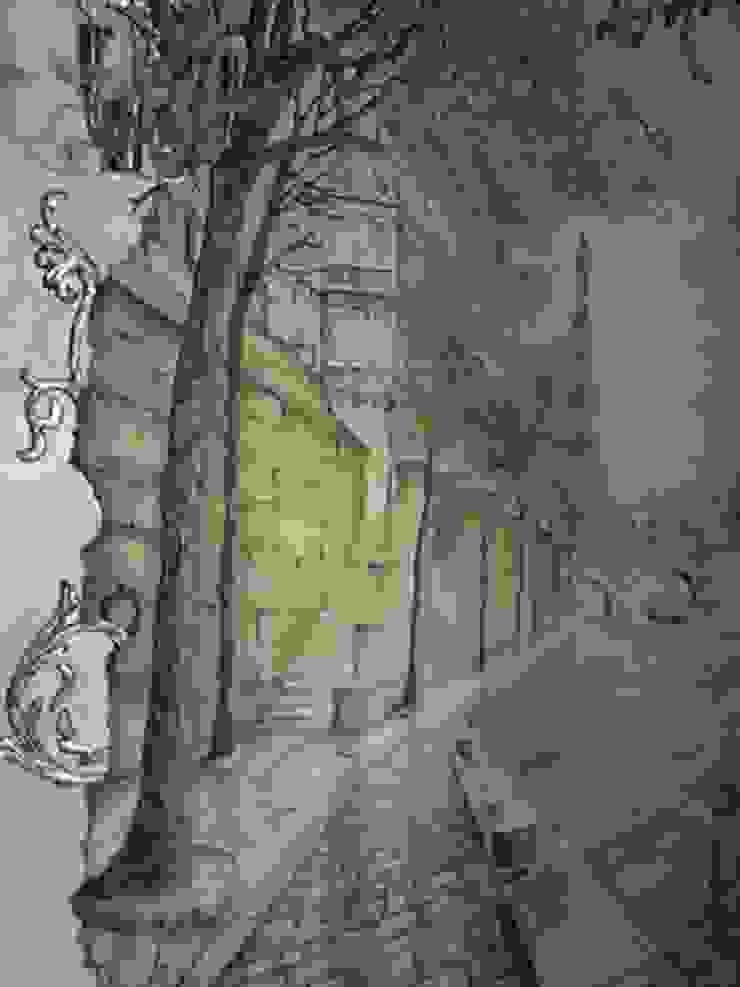 немного Франции Коридор, прихожая и лестница в классическом стиле от Абрикос Классический