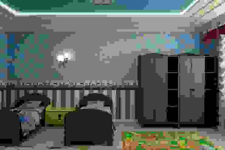 """Детская в стиле """"Игрушки"""" Цунёв_Дизайн. Студия интерьерных решений. Детские комната в эклектичном стиле"""