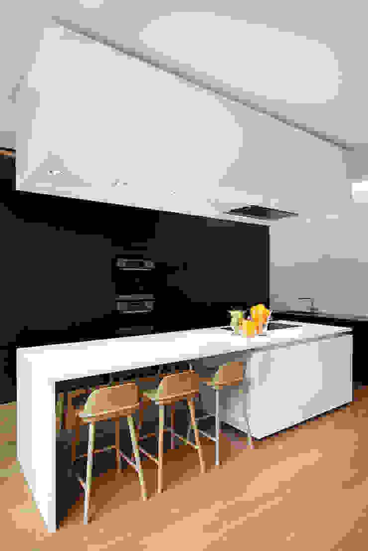 Pièces de vie revisitées Maisons minimalistes par Olivier Vitry Architecture Minimaliste
