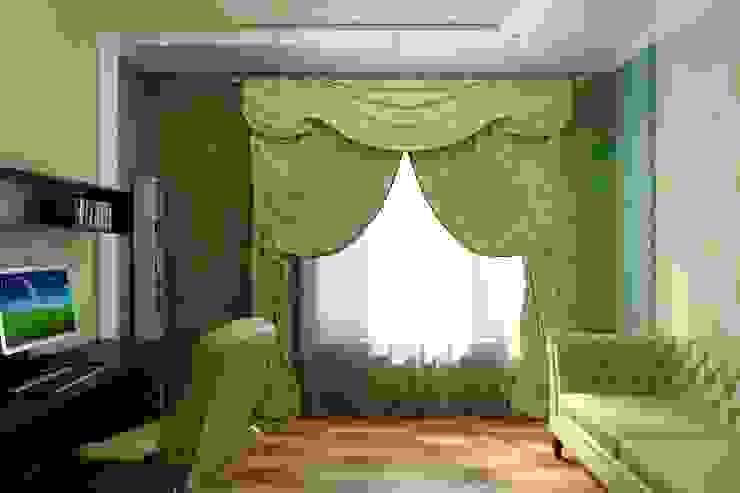 Кабинет в современной классике Рабочий кабинет в классическом стиле от Цунёв_Дизайн. Студия интерьерных решений. Классический