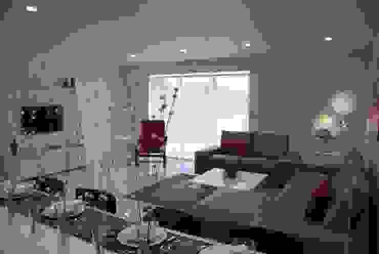 SALON Modern Oturma Odası Gizem Kesten Architecture / Mimarlik Modern
