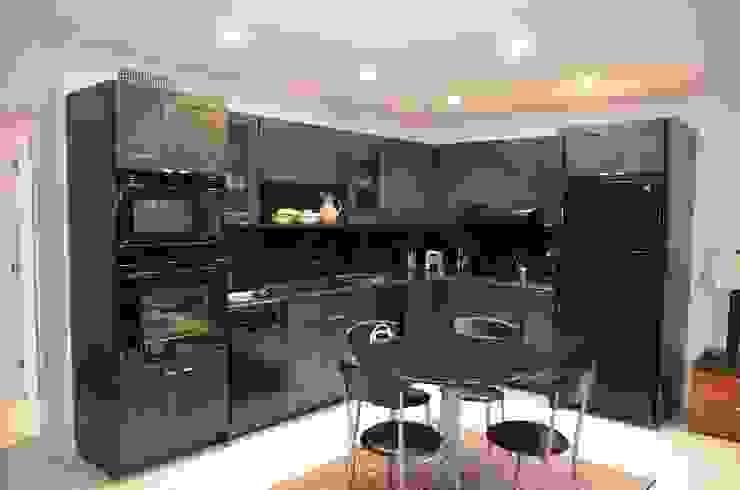 Cozinhas modernas por Gizem Kesten Architecture / Mimarlik Moderno