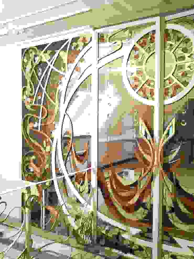 витраж и ковка Зимний сад в стиле модерн от Абрикос Модерн