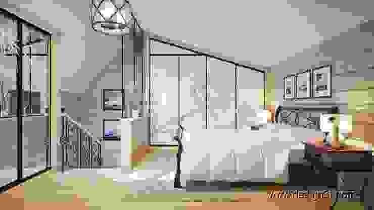 Dormitorios de estilo moderno de студия Design3F Moderno