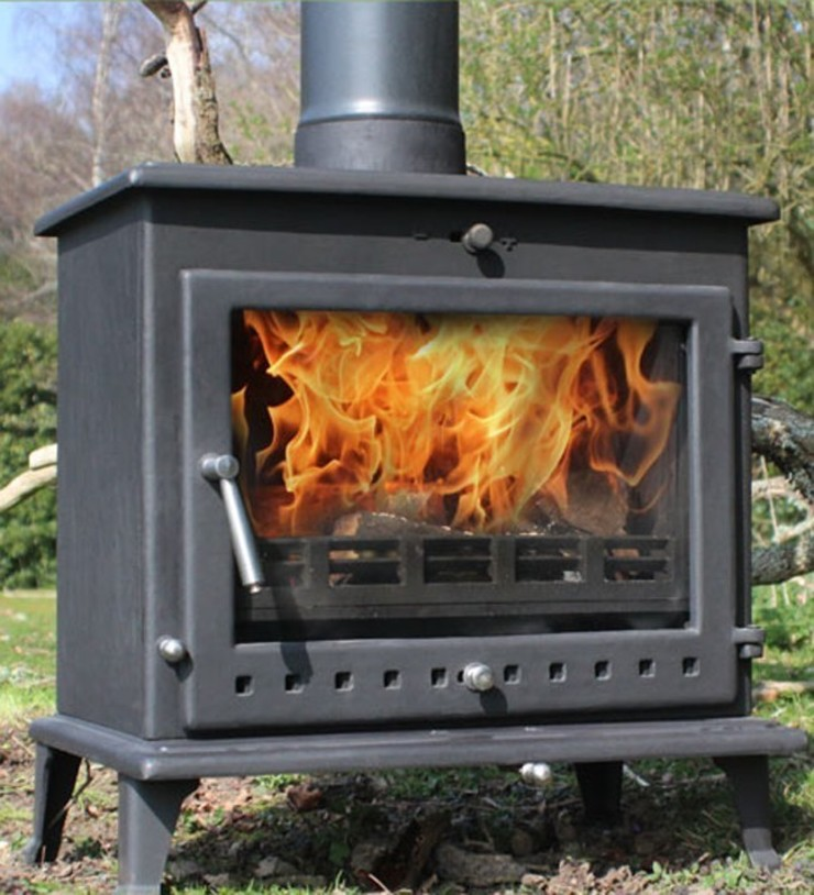 Ekol Crystal 12kW Wood Burning - Multi Fuel DEFRA Approved Stove: country  by Direct Stoves, Country