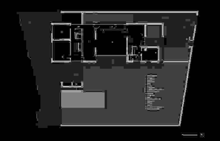Planta baja de lightarchitecture studio Moderno
