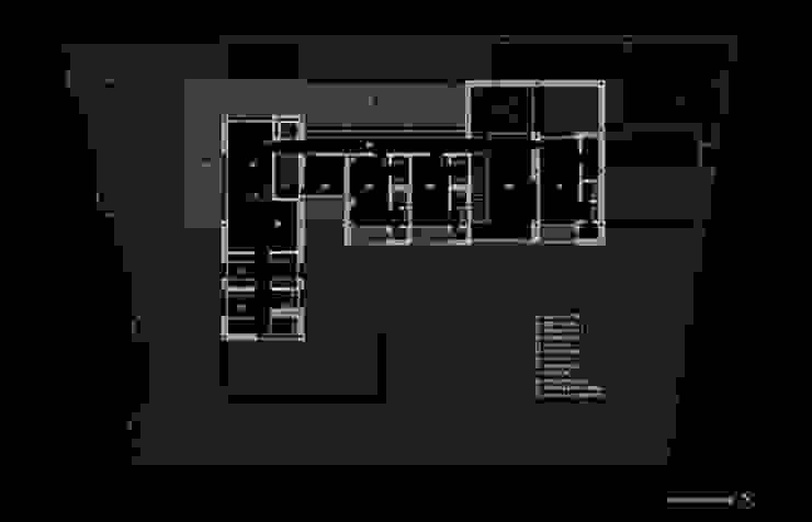 Planta primera de lightarchitecture studio Moderno