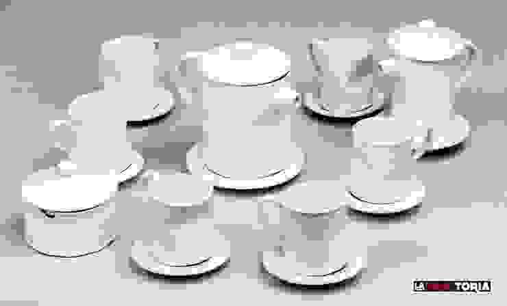 Juego completo de cafe 6 servicios.:  de estilo industrial de La Fangtoria, Industrial