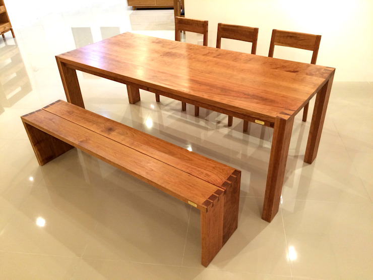 CHERRY TABLE SET: MOKNEE의 현대 ,모던