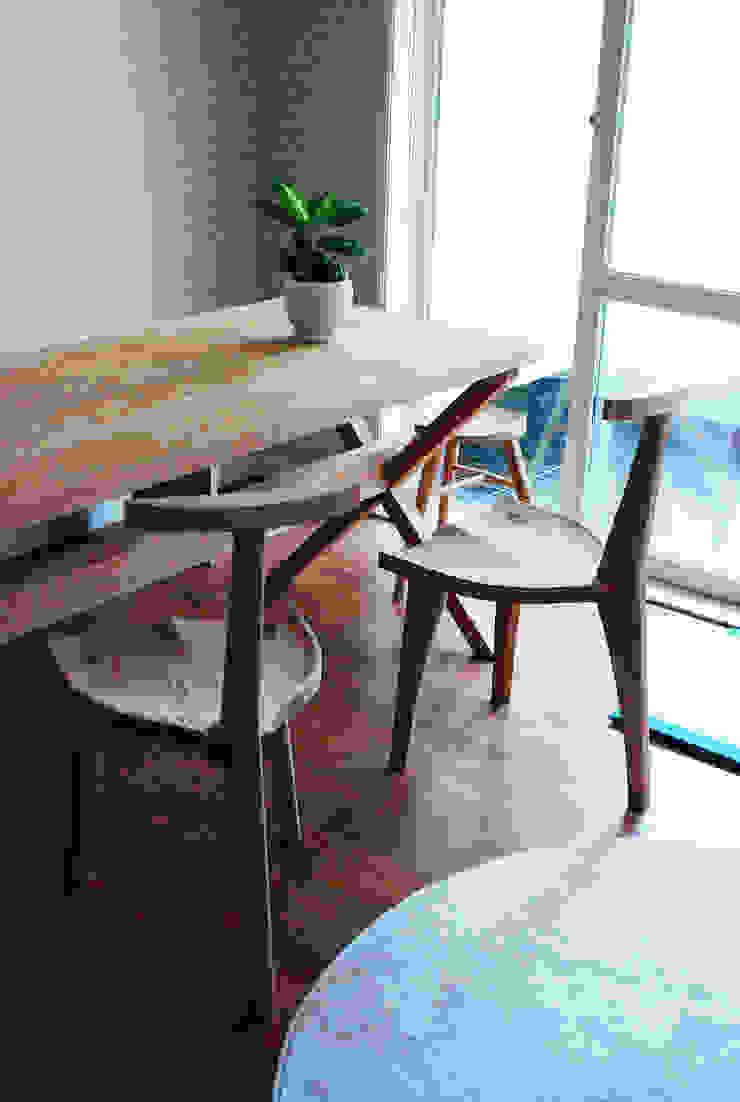ASH TABLE SET: MOKNEE의 현대 ,모던