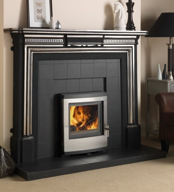 Esse 301SE Contemporary Inset Multi Fuel - Wood Burning DEFRA Approved Stove: modern  by Direct Stoves, Modern