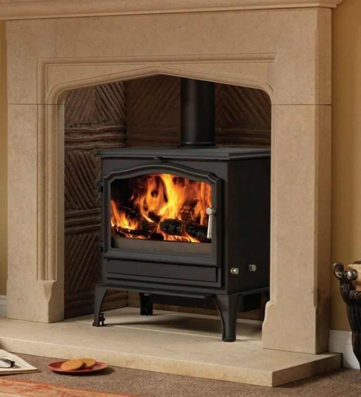 Esse 200XK Wood Burning - Multi Fuel Stove: country  by Direct Stoves, Country