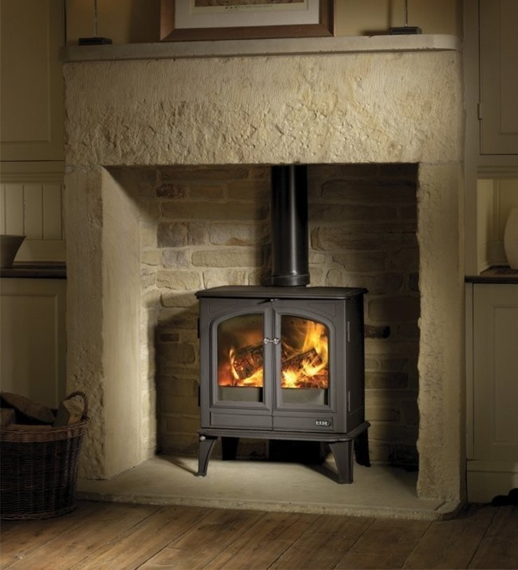 Esse 700 Wood Burning - Multi Fuel Boiler Stove: country  by Direct Stoves, Country