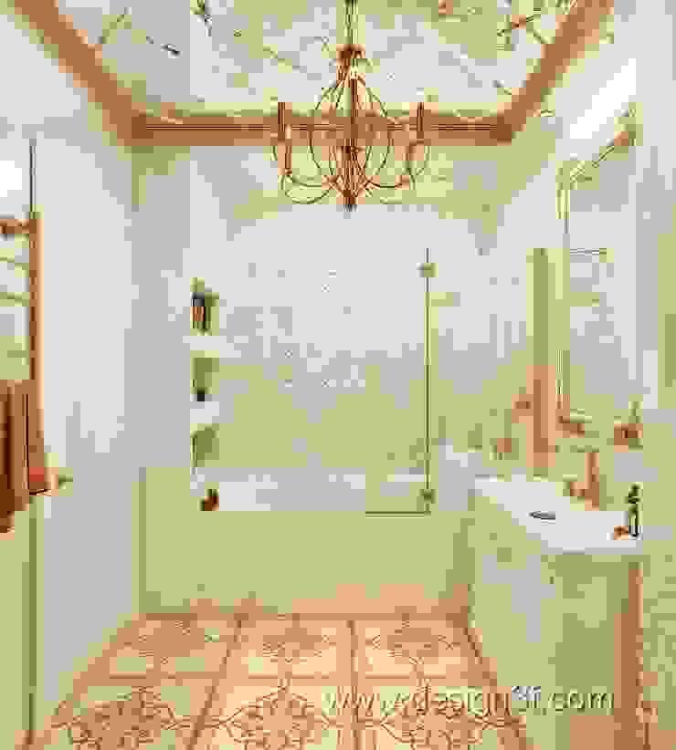 ванная Ванная в классическом стиле от студия Design3F Классический