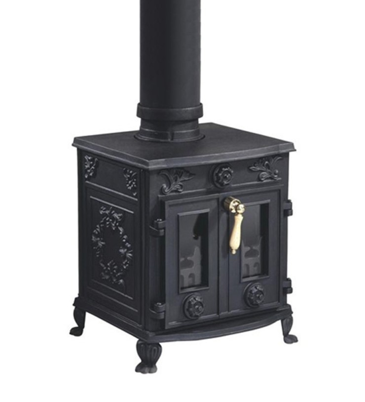Evergreen Constable Double Door Multifuel Stove: country  by Direct Stoves, Country