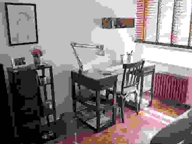 dormitorio en Valladolid Estudios y despachos de estilo ecléctico de CarlosSobrinoArquitecto Ecléctico