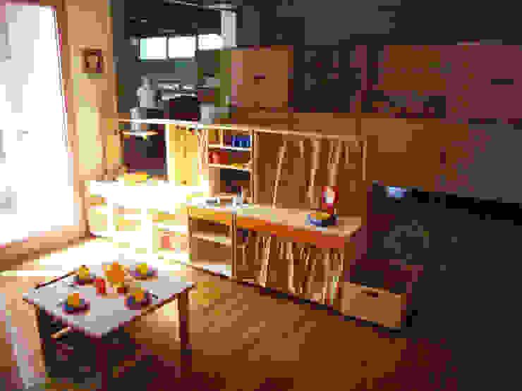 Aule- spazi per il gioco, sezione materna Scuole moderne di Studio Capannini Architetti Moderno