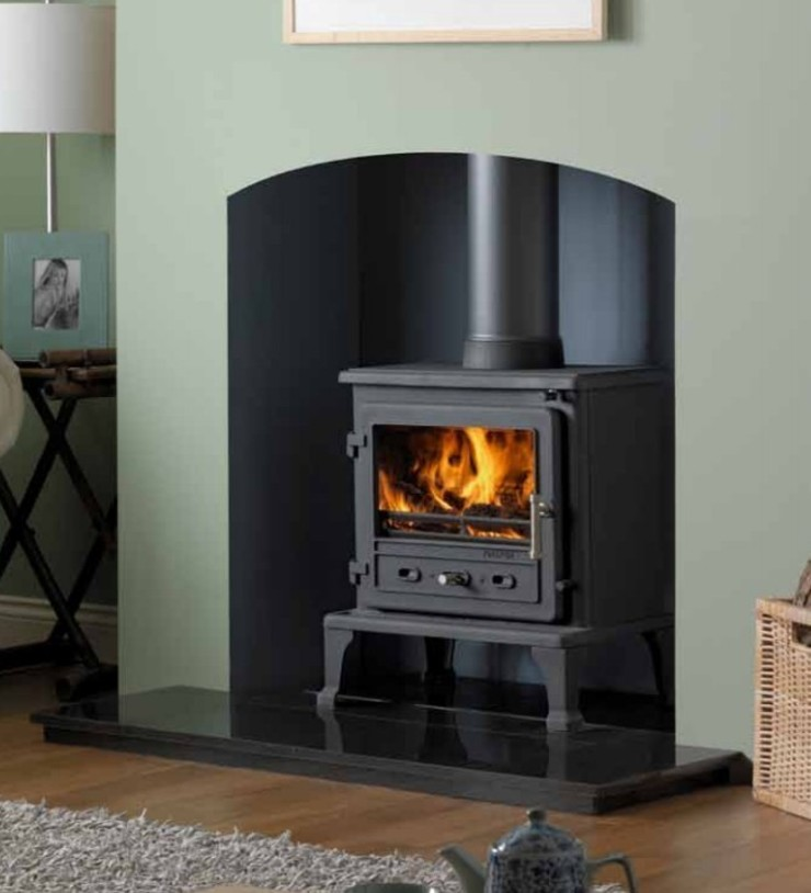 Firefox 8.1 Wood Burning - Multi Fuel Defra Approved Stove: country  by Direct Stoves, Country
