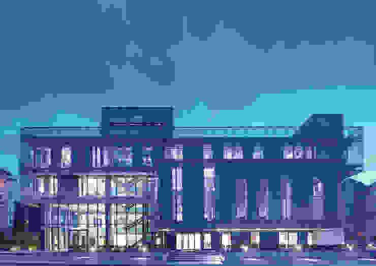 AVCIARCHITECTS_03_EXTERIOR_NIGHT Avci Architects Modern