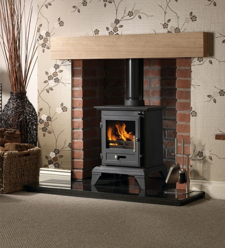 Gallery Classic 5 Wood Burning and Multi Fuel Defra Approved Stove: country  by Direct Stoves, Country