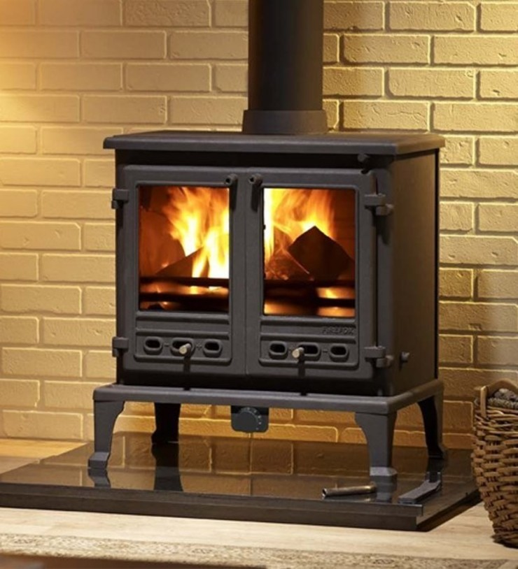 Firefox 12b Wood Burning - Multi Fuel Boiler Stove: country  by Direct Stoves, Country
