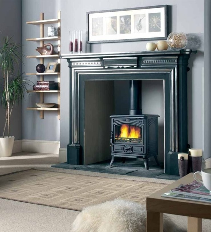 Franco Belge Montfort Classic Multi Fuel / Wood Burning Stove: country  by Direct Stoves, Country