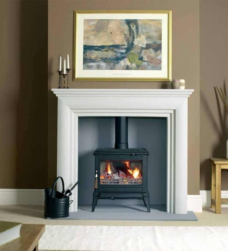 Franco Belge Monaco Multi Fuel / Wood Burning Defra Approved Stove: country  by Direct Stoves, Country