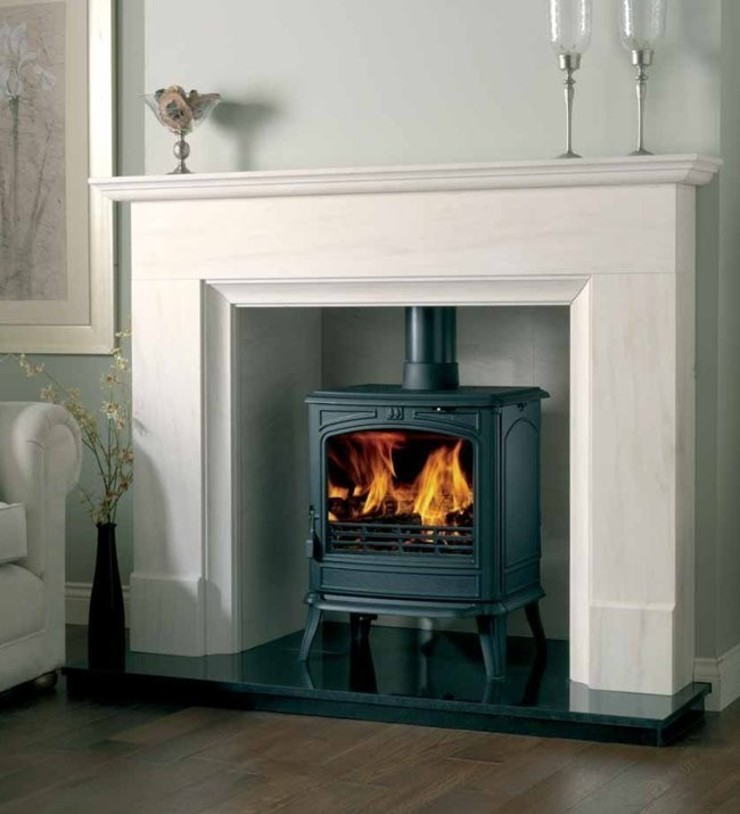 Franco Belge Savoy Elegance Wood Burning / Multi Fuel Stove: country  by Direct Stoves, Country