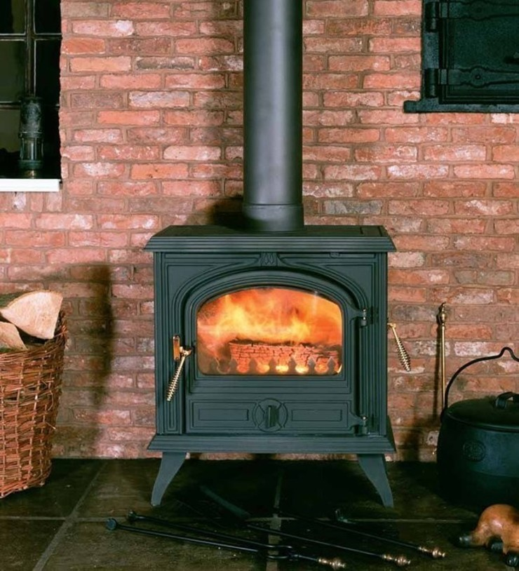Franco Belge Camargue Wood Burning / Multi Fuel Stove: country  by Direct Stoves, Country