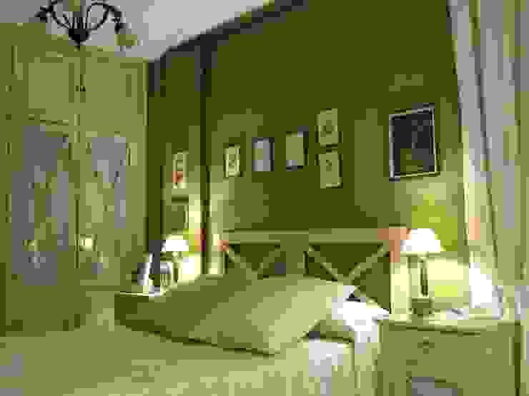 dormitorio principal en Valladolid CarlosSobrinoArquitecto Cuartos de estilo ecléctico