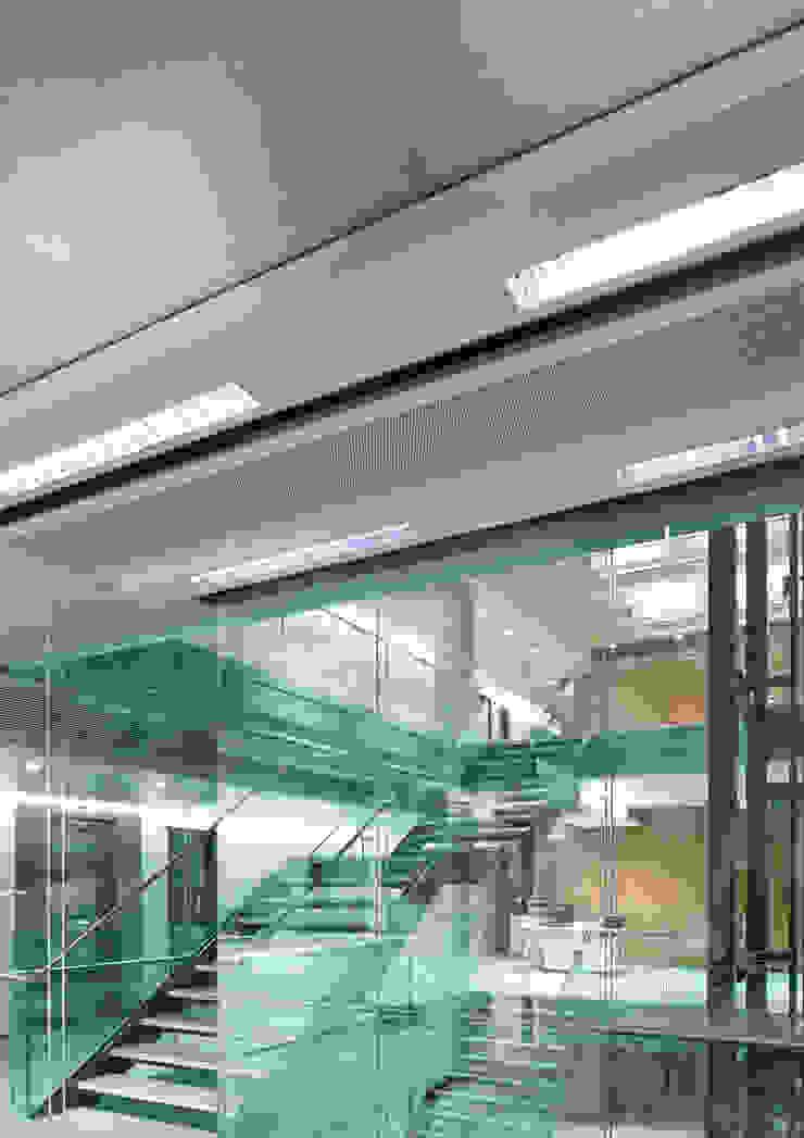 AVCIARCHITECTS_10_INTERIOR Modern Koridor, Hol & Merdivenler Avci Architects Modern