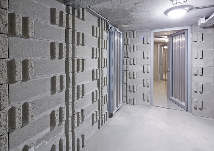 AVCIARCHITECTS_12_LABYRINTH Modern Duvar & Zemin Avci Architects Modern