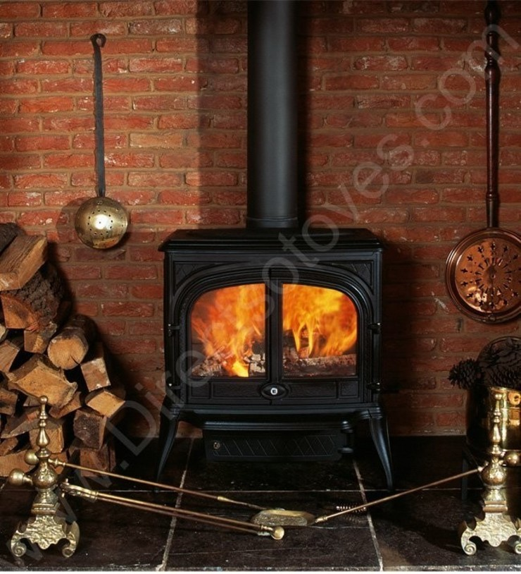 Franco Belge Ardennes Wood Burning Stove: country  by Direct Stoves, Country