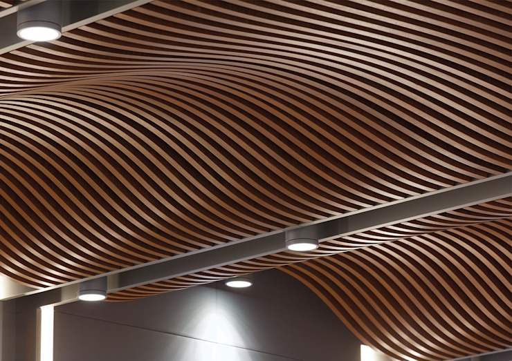 AVCIARCHITECTS_11_CEILING DETAIL Modern Çalışma Odası Avci Architects Modern