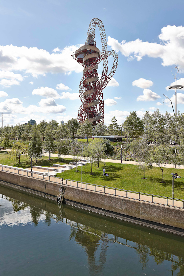 ArcelorMittal Orbit Shoot, Olympic Park, London Modern stadiums by Adam Coupe Photography Limited Modern