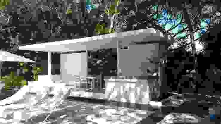 frente Jardines modernos de sandro bortot arquitecto Moderno