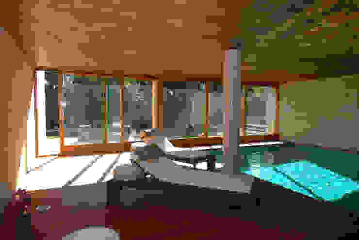 Indoor pool FG ARQUITECTES Modern pool