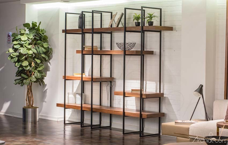 Archidecors – Loft No:2 Kitaplık: modern tarz , Modern